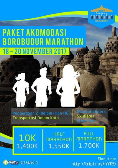 TripTrus - Borobudur Marathon 2017